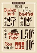 Store,Beer Tap,Food,Menu,Old-fashioned,Beer - Alcohol,Plan,Hat,Pub,Sign,Restaurant,Price,Vector,Tea - Hot Drink,Dessert,Spoon,Alcohol,Blackboard,Dinner,Breakfast,Business,Bar - Drink Establishment,Backgrounds,Lunch,Kitchen Knife,Pattern,Crockery,Table Knife,Plate,Glass,Frame,Drink,Fork,Brewery,1940-1980 Retro-Styled Imagery,Coffee - Drink,Chef,Cup,Ornate,Text,Symbol,Dollar Sign