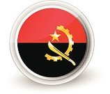 Circle,Red,Ethnicity,Authority,nation,Badge,continents,Land,Series,Sign,Flag,Shiny,Symbol,Ilustration,Africa,Angola