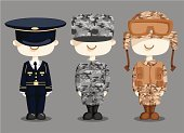 Armed Forces,Military,Army,Cartoon,Hat,Camouflage Clothing,Navy,Air Force,Work Helmet,Camouflage,War,Vector,Marines,Desert,Uniform,Shoe,Ilustration,Cute,Weapon,Jacket,Conflict,Gun,Mischief,Law Enforcement And Crime,Vector Cartoons,Industry,People,Danger,Disaster,dress uniform,Problems,Illustrations And Vector Art