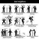 Stick Figure,Neighbor,Furious,Throwing,Anger,Displeased,Fence,Report,Stealing,Thief,Fighting,Irritation,Cartoon,Evil,Aggression,Humor,Arguing,Police Force,Rudeness,Sound,Hate,Computer Icon,Vector,Assertiveness,Music,People,Envy,Scolding,Smoke - Physical Structure,Conflict,Unhygienic,Dirty,Disgust,Problems,House,Fun,Danger,One Person,Group of Objects,Careless,Symbol,Men,Residential District,Revenge,Serene People,Sadness