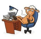 Sheep,Fun,Humor,Motivation,Hoofed Mammal,Animal,Smoking,Chair,Enjoyment,Manager,Success,Occupation,Cigar,Routine,Smiling,Isolated On White,Excitement,Vector,Addiction,Weekend Activities,Business,Place of Work,Lunch,Lifestyles,Cartoon,Cheerful,Businessman,Office Interior,Characters,Inspiration,Chinese Zodiac Sign,Symbol,Ilustration,2015,New Year,Desk,Vibrant Color,Coffee Break,Unhealthy Living,Relaxation,Ecstatic,Bad Habit,Coffee - Drink,Working,Luck,White Collar Worker,Happiness
