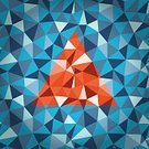 Computer Graphic,Ilustration,Diamond Shaped,Futuristic,Orange Color,Origami,Wallpaper Pattern,Shape,Elegance,Technology,Seamless,Design,Pattern,Backgrounds,Backdrop,Mosaic,Creativity,Abstract,Triangle,Vector,polygonal,Geometric Shape,Two-dimensional Shape,Blue