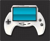 Video Game,Handheld Video Game,Leisure Games,Play,Push Button,Interface Icons,Keypad,Visual Screen,Computer Monitor,Playing,Blank,Technology,Electronics