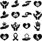 Symbol,Computer Icon,Savings,Social Issues,Icon Set,Charity and Relief Work,Protection,Donation Box,Teamwork,Team,Child,Assistance,Set,Collection,Symbols Of Peace,Computer,Ilustration,Heart Shape,Concepts,Sign,Human Finger,Energy,Animal,Mother,Business,Black Color,Web Page,Internet,Dove - Bird,Service,Peace Sign,Interface Icons,Help,Curve,Mobile Phone,Human Hand,Commercial Activity,Love,Remote,Ideas,Blood Donation,Insignia,Ribbon,Parent,Leaf,Vector,Telephone,Technology,Volunteer,Thumb