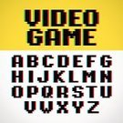 Pixelated,Retro Revival,Video Game,Text,Old-fashioned,Computer Monitor,Leisure Games,Distorted,Digital Display,Creativity,Computer,Symbol,Vibrant Color,Modern,Typescript,Photographic Effects,Alphabet,English Alphabet,Sign,Funky,3d Effect,game over,web design,Pixel Font,Alphabetical Order