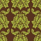 Rococo Style,Seamless,Pattern,Backgrounds,Retro Revival,Wallpaper Pattern,Repetition,Vector Backgrounds,Illustrations And Vector Art,Classic,Vector