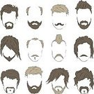 Old,Large,People,Spirituality,Simplicity,Symbol,Variation,Facial Mask - Beauty Product,Human Body Part,Human Head,Human Face,Costume,Chin,Facial Hair,Beard,Mustache,Human Hair,Hairstyle,Curly Hair,Whisker,Black Color,Old,Silhouette,Shaving,Child,Adult,Lamb - Meat,Curled Up,Barber,Handlebar,Disguise,Illustration,Goatee,Chop,Sketch,Group Of Objects,Males,Men,Boys,Females,Vector,Dressing Up,Fashion,Collection,Retro Styled,Sideburn,Swirl,Textile Patch,Performance Group,Arts Culture and Entertainment,2015,Patch,dastardly,Silhouette,Cutting Hair,71172