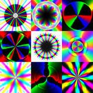 Computer Graphics,Square,Defocused,Multi Colored,Circle,Pattern,Backgrounds,Computer Graphic,Spectrum,Abstract,Illustration,Wave Pattern,Textured,No People,Collection,Spectral,2015,RGB