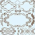 Retro Revival,Curve,Victorian Style,Squiggle,Flower,Image,Spiral,Tracery,Acanthus Plant,Part Of,Design Element,Back Lit,Simplicity,Silhouette,Backgrounds,Decor,figuration,Beauty In Nature,Ornate,Vector,Ilustration,Single Flower,Old-fashioned,Elegance,Architectural Revivalism,Pattern,Gothic Style,Tendril,Decoration,Luxury,Leaf,Frame,Classical Theater,Renaissance,Classic,premium,Drawing - Art Product,Typescript,Floral Pattern,Rococo Style,Swirl