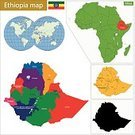 Africa,Horn Of Africa,Addis Ababa,amharic,Outline,Vector,province,region,Politics,Territorial,Ilustration