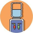 Water Cooler,Drinking Water,Water,Symbol,Computer Icon,Drink,Office Interior,Day,Cold - Termperature,Employment Issues,Heat - Temperature,Job - Religious Figure,Ilustration,Single Object,Vector,Business,Color Image,No People,Clip Art,Occupation,Business People,Business,Long,Working,Working Late