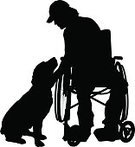Ilustration,Wheel,Male,Hospital,Medical Exam,Assistance,Illness,Mobility,Backgrounds,Men,Adult,fondle,Togetherness,Pets,Animal,Chair,People,Help,Love,White,Wheelchair,Silhouette,Body Care,Isolated,Sitting,Healthcare And Medicine,Vector,Physical Impairment,Dog,Friendship,Little Boys,Retriever,Labrador,Large,Labrador Retriever,Service