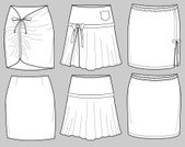 Skirt,fashion flats,Fashion,Sewing Pattern,Sketch,Ilustration,Drawing - Art Product,Textile Industry,Design,Fashion Industry,Product Design,Flounced Skirt,production flats,Illustrations And Vector Art,Isolated Objects,Fashion,Vector Icons,Beauty And Health,Style,Pencil Drawing,Plan,Elegance,line sheets,Funky