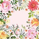 Flower,Single Flower,Watercolor Paints,Floral Pattern,Springtime,Ilustration,Vector,Paintings,Mothers Day,Painted Image,Rose - Flower,Greeting Card,Backgrounds,Pattern,Art,Botany,Creativity,Abstract,Plant,Leaf,Invitation,Brochure,Branch,Design Element,Print,Ornate,Growth,Isolated,Placard,Formal Garden,Decoration,Elegance,Greeting,Romance,Art Product,Ornamental Garden,Summer,Homemade,Pink Color,template,Birthday,Design,Holiday,Set,Bouquet,Craft,Wedding,Nature,Petal,Season,Love,Printout,Image