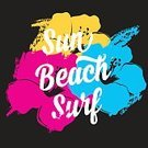 Beach,Surf,Sign,Print,Computer Icon,Vector,Flower,Banner,Surfboard,Tropical Climate,Quote,Retro Revival,Design,Badge,Old-fashioned,Insignia,Label,Symbol,Summer,Idyllic,Poster
