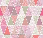 Seamless,Geometric Shape,Triangle,Backgrounds,Pattern,Vector,Pastel Colored,Spotted,Repetition