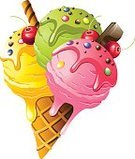 Ice Cream Cone,Painted Image,Ice Cream,Sorbet,Mint Ice Cream,Cherry Ice Cream,Pistachio Ice Cream,Lemon Ice Cream,Isolated On White,Strawberry Ice Cream,Green Tea Ice Cream,Unhealthy Eating,Freshness,Frozen,Single Object,Syrup,Color Image,Dessert,Mint,Pistachio,Computer Icon,Candy,Sweet Food,Vector,Food,Cold - Termperature,Snack,Chocolate,Isolated,Ice Cream Sundae,Fruit,Pink Color,Dairy Product,Wafer,Caramel,Cherry,Stick - Plant Part,Computer Graphic,Ilustration