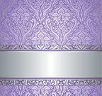 Swirl,Flower,Purple,Baroque Style,Floral Pattern,Flower Head,Retro Revival,Beautiful,fashioned,Decoration,Continuity,Vector,Dusk,Classic,Ilustration,Ornate,Antique,Old-fashioned,Violet,Silver Colored,Backgrounds,Luxury,Pattern,Computer Graphic,Victorian Style,Elegance,Nature,Color Image