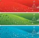 Christmas,Banner,Christmas Tree,Green Color,Backgrounds,Placard,Snow,Winter,Wave Pattern,Red,Swirl,Snowflake,Star Shape,Blue,Night,Shiny,Sky,Bright,Illuminated,Copy Space,White,Celebration,Twilight,Blank,Empty,Dusk,Christmas,Vector Backgrounds,Illustrations And Vector Art,Vibrant Color,Holidays And Celebrations