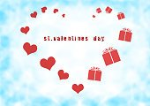 Romance,Cloud - Sky,Gift,Surprise,Valentine Card,Abstract,Heart Shape,Backgrounds,Red,Love,Valentine's Day