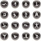 Yoga,Symbol,Computer Icon,Zen-like,Icon Set,Meditating,Buddhism,Relaxation Exercise,Sport,Exercising,Vector,Black Color,Healthy Lifestyle,Cultures,Interface Icons,White,Indigenous Culture,Obedience,Spirituality,Punishment,Positioning,Ilustration,Religion,Shiny,Vector Icons,Paranormal,Illustrations And Vector Art