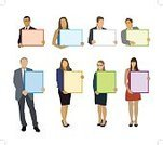 Blank,Sign,Occupation,Backgrounds,Employment Issues,Businessman,Holding,White Background,Pointing,Color Image,Caucasian Ethnicity,Global Communications,Isolated,Data,Awards Ceremony,Retail,Office Worker,Suit,Message,Manual Worker,New,Placard,Poster,Team,Teamwork,Men,Billboard Posting,Ilustration,Computer Graphic,One Person,People,Women,Business Person,Ideas,Empty,Businesswoman,Communication,Showing,Colors,Advice,Young Adult,Billboard,Silhouette,Business,Presentation,White Collar Worker,White,Information Medium,Vector,Design,Box - Container,Symbol,Corporate Business,Marketing,Modern,Inspiration,Advertisement,Art,Commercial Sign,Group Of People
