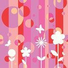 Butterfly - Insect,Pattern,Geometric Shape,Circle,Seamless,Pink Color,Flower,Backgrounds,Multi Colored,Bubble,Purple,Eternity,Female,Springtime,Design,Textured,Motion,Modern,Mid-Air,Freshness,Decoration,Comfortable,Candid,Lightweight,Spring,Ornate,Life,Nature,Illustrations And Vector Art,Nature,Flowers