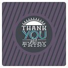 Thank You,Note,Retro Revival,Old-fashioned,Ribbon,Sign,Single Word,typographic,Text,Script,Ilustration,Typescript,Vector,you,Badge,Design,Greeting,Design Element,Label
