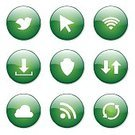 Interface Icons,Glossy Button,Green Color,Green Button,Icon Design,Symbol,Round Button,Design,Fog,Connection,Social Gathering,Bird,Isolated,Phone Icon,vector icon,Set,Ilustration,Digitally Generated Image,App Icon,Wireless Technology,Cloud - Sky,dowload,Vector,Sign,Icon Set,Collection,Internet,web icon,Computer Graphic,Shape,Social Networking