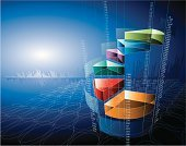 Finance,Business,Graph,Backgrounds,Data,Growth,Pie Chart,Investment,Three-dimensional Shape,Analyzing,Success,Computer Graphic,Wealth,Futuristic,Savings,Stock Market,Vector,Making Money,Aspirations,Ideas,Digitally Generated Image,Concepts,Blue,Creativity,Strength,Inspiration,Green Color,Ilustration,Moving Up,Colors,Diminishing Perspective,Vanishing Point,Orange Color,Index,Purple,Wire Mesh,Slanted,Business,Success,Business Backgrounds,Business Concepts,Concepts And Ideas