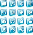 Cube Shape,Grid,Symbol,Chart,Computer Icon,rss,Telephone,Computer Graphic,Icon Set,Translucent,Buddy,Blue,Sparse,Color Gradient,Work Tool,Speaker,Interface Icons,Clean,Lock,Friendship,Vector,Discussion,Waiting,Internet,Square,Arrow Symbol,No People,Music,Isolated,Talking,Simplicity,Illustrations And Vector Art,Unlocking,Design Element,Isolated Objects,Technology Symbols/Metaphors,Technology,Skipping