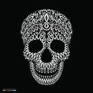 Ilustration,People,Halloween,Computer Graphic,Ornate,Pattern,Tattoo,Swirl,Shape,Pirate,Gothic Style,Human Face,Anatomy,Abstract,Sign,Symbol,Curve,Decor,Elegance,Doodle,Decoration,Vector