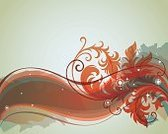 Vector,Computer Graphic,Retro Revival,Abstract,Decoration,Ornate,Art,Creativity,Beautiful,Swirl,Beauty,Design,Floral Pattern,Shape,Image,Grunge,Elegance,Color Image,Backgrounds,Scroll Shape,Ilustration,Clip Art,Curve,Fashion,Backdrop