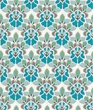 Art Nouveau,Pattern,1950s Style,Seamless,Flower,Floral Pattern,Retro Revival,Geometric Shape,textur,Textile,Design,Multi Colored,Textured Effect,Wrapping Paper,Vector Florals,Vector Ornaments,Arts Backgrounds,Decoration,Colors,Illustrations And Vector Art,Arts And Entertainment