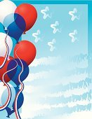 Fourth of July,Balloon,Patriotism,Frame,Backgrounds,Flag,American Flag,USA,Red,Election,Traditional Festival,Blue,Vector,Star Shape,White,Politics,Striped,Abstract,Ribbon,Holiday,Parties,Holiday Backgrounds,Vector Backgrounds,Holidays And Celebrations,Election Day,Government,Ilustration,President's Day,Illustrations And Vector Art