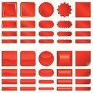 Interface Icons,Internet,Red,Banner,Three-dimensional Shape,Shiny,Placard,Label,Symbol,Backgrounds,Religious Icon,Link,Computer Graphic,Vector,Sign,Paper,Design,Set,Metallic,Blue,Page,Technology,White,Curled Up,template,Ticket,Isolated,Glowing,Softness,Business,useful,Collection,Wrapped,Drawing - Activity,Multi Colored,Beauty,Spiral,Vector Ornaments,Vector Icons,Comfortable,Beautiful,Illustrations And Vector Art