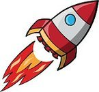 Exploration,Beginnings,Science,Transportation,Drawing - Art Product,Space Travel Vehicle,Flying,Taking Off,Space Shuttle,Rocket,Orange Color,Red,Flame,Aerospace Industry,Illustration,Cartoon,Sketch,Vector,Travel,Rocket Booster,White Background,Spaceship,2015,Tailplane,Business Finance and Industry