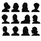 Computer Graphics,Used,Monochrome,People,Image,Symbol,Technology,16-17 Years,Black And White,Human Body Part,Human Head,Human Face,Front View,Side View,Human Hair,Hairstyle,Design,Internet,Black Color,White Color,Silhouette,Shoulder,Orthographic Symbol,Computer Icon,Computer Graphic,Teenager,Adult,Cut Out,Outline,Illustration,Painted Image,Group Of Objects,Females,Women,Teenage Girls,Portrait,Vector,Unrecognizable Person,Characters,Computer,White Background,Monochrome,2015,Silhouette,Design Element,Icon Set,Human Joint,Avatar