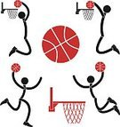 Basketball Hoop,Vector,Sport,Ball,Symbol,Competitive Sport,Design Element,Victory,Sports Footwear,Winning,Abstract,Red,Black Color,Team Sport,Cartoon,Isolated,Humor,Success,Competition,Professional Sport,People,Athlete,Sportsman,Silhouette,Bizarre,Playing,Basketball Player,Insignia,Healthy Lifestyle,Sign,Set,Basketball - Sport,Basketball,Men