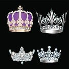 Jewelry,Sign,Princess,Decoration,Collection,Luxury,Vector,Ilustration,Nobility,Symbol,Crown