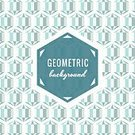 Text,Vector,Old-fashioned,White,Shape,Retro Revival,Design,Geometric Shape,Hexagon,Pattern,Blue