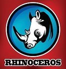 Sport,Rhinoceros,Symbol,Vector,Zoo,Wildlife,Nature,Mascot,Animal,Aggression,Backgrounds,Computer Graphic,Mammal,Ilustration,Africa