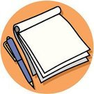 Pen,Writing,Notebook,Note Pad,Paper,Pencil,Document,Symbol,Letter,Education,Book,Computer Icon,Business,Mail,Correspondence,Planning,Equipment,Clip Art,Office Interior,Studying,Vector,correspond,Objects/Equipment,Send,Ilustration,Copy Space,Single Object,No People