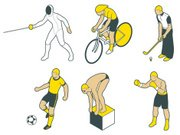 Fencing,Bicycle,Swimming,Computer Icon,Soccer,Sport,Golf,Cyclist,Boxing,Vector,Exercising,Icon Set,Ilustration,Iconset,Male,Men,Computer Graphic,Competition,Golf Club,Illustrations And Vector Art,Sports And Fitness,Competitive Sport,Sports Backgrounds,Vector Icons,White Background,Action