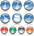 Guitar,Banjo,Religious Icon,Symbol,Piano,Entertainment,Saxophone,Three-dimensional Shape,Push Button,Mandolin,Musical Instrument,Acoustic Guitar,Interface Icons,Icon Set,White,Highlighter,Performance,Circle,Blue,Purple,Green Color,Glass - Material,Orange Color,Black Color,Chrome,Electricity,Metallic,Connection,Multi Colored,Electric Guitar,Music,Red,Illustrations And Vector Art,Gray,Ilustration,Arts And Entertainment,Vector Icons,Adulation,Modern,Performing Arts Event,Shiny,Vector