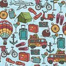 Pattern,Clock,Car,Travel,Food,Camera - Photographic Equipment,Transportation,Tourism,Slipper,Cycling,Passenger Ship,Abstract,Design,Sailing,Tent,Color Image,Ornate,Wrapping Paper,Paper,Backgrounds,Summer,Vector,Passport,Decoration,Hotel,Doodle,Airplane,Nautical Vessel,Hot Air Balloon,Cocktail,Bicycle,Compass,Book Cover,Seamless,Wallpaper Pattern,Scrapbook,Mode of Transport,Anchor,Travel Destinations,Vacations,Beach,Suitcase,Ilustration,Sketch,Sun,Drawing - Activity,Textile