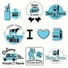 Farm,Label,Freshness,Cow,Packaging,Food,Ilustration,Cheese,Blue,Barn,Badge,Vector,Backgrounds,Sign,Computer Graphic,Love,Farmer,Agriculture,Organic,Nature,Business,Merchandise