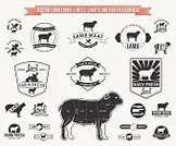 Lamb,Symbol,Black Color,Butcher,Food,Cutting,Insignia,Placard,Design,Menu,Agriculture,Collection,Market,Vector,Old-fashioned,Pasture,Butcher's Shop,Farm,Cultures,Label,Sign,Freshness,Animal,Meat,Elegance,Chart,Banner,Branding,Handwriting,Ilustration,Retro Revival,Silhouette,Domestic Animals,Set,Store,White,Diagram,Ram - Animal,Sheep,Meal,Nature,Quality Control,Organic,Mutton