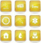 Interface Icons,Yellow,Glossy Button,Vector,App Icon,Ilustration,Digitally Generated Image,Yellow Button,Computer Icon,Stethoscope,Health Emergency,Nurse,Blood,vector icon,Symbol,Icon Design,Hospital,First Aid Kit,Sign,Computer Graphic,Shape,Design,Isolated,Medical Icon,Healthcare And Medicine,Phone Icon,web icon,Internet,Temperature,Ambulance,24 Hrs,Care,Set,Icon Set,Collection,Injecting