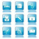 Vector,Glossy Button,Interface Icons,Digitally Generated Image,Ilustration,Hospital,App Icon,Blue,vector icon,Care,Nurse,Icon Design,Symbol,Blue Button,Computer Icon,Wheelchair,First Aid Kit,Isolated,Design,Sign,Phone Icon,Healthcare And Medicine,Medical Icon,Scissors,Computer Graphic,Shape,Set,Ambulance,Stethoscope,Collection,Icon Set,web icon,Internet,Injecting